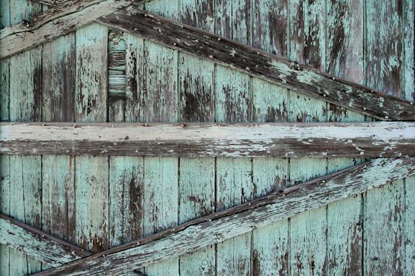 Turquoise Barnwood