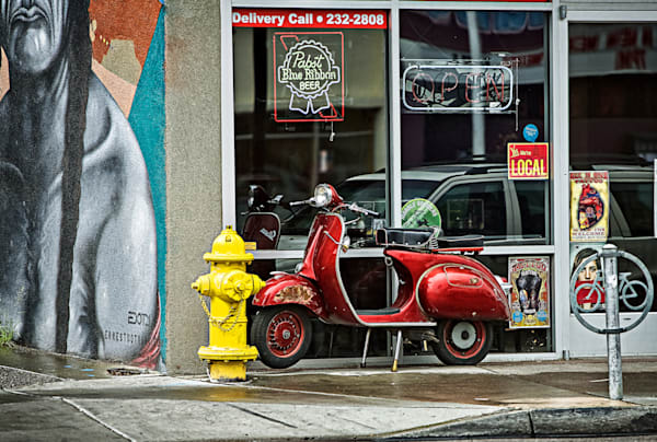 Outlaw Moped Photography Art | 1582 Photography