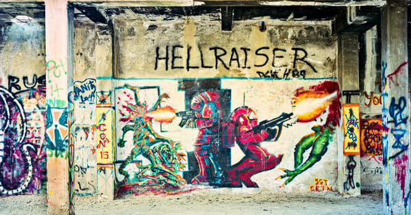 Hell Raiser Photography Art by frednewmanphotography