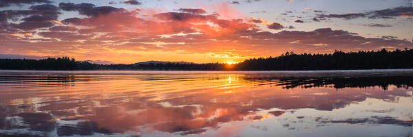 2nd Lake Sunrise Panoramic