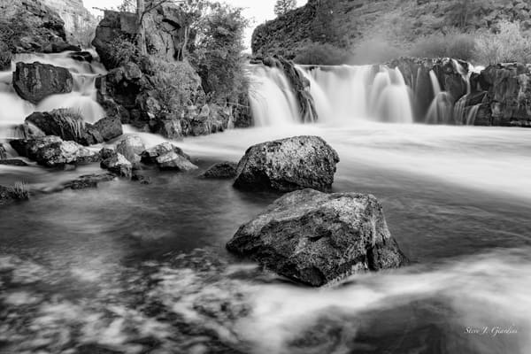 Steelhead Falls (171736LND8) Fine Art Central Oregon Waterfall Photograph for Sale as Print