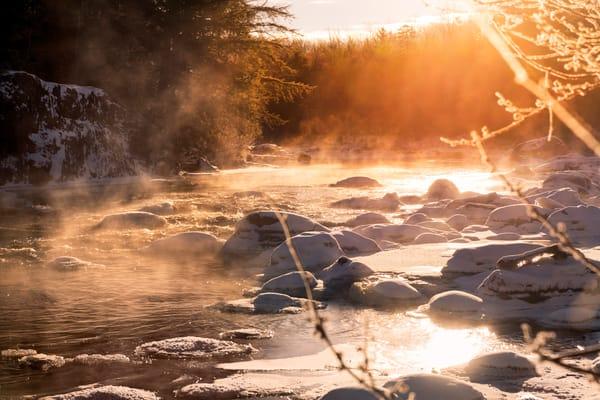 Twelve Below On The Moose River Photography Art | Kurt Gardner Photogarphy Gallery