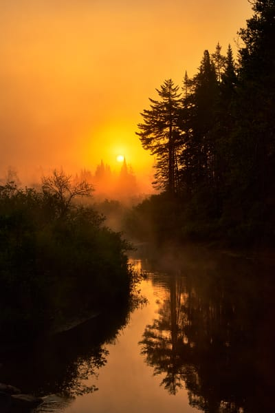 Moose River Summer Sunrise photograph