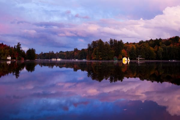 Old Forge, Ny Pond Sunset Photography Art | Kurt Gardner Photogarphy Gallery