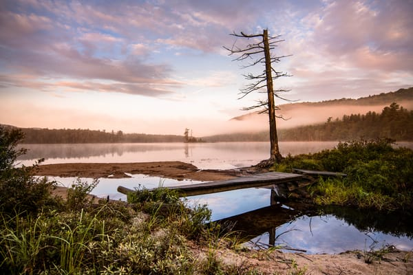 Moss Lake Sunrise Photography Art | Kurt Gardner Photogarphy