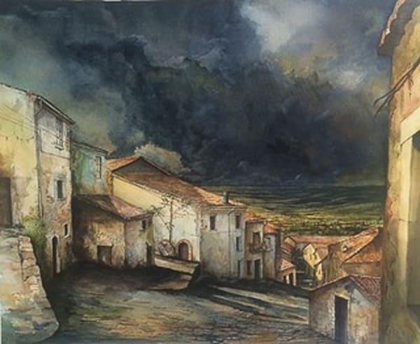 Shelter from the Storm | SavvyArt Market original painting