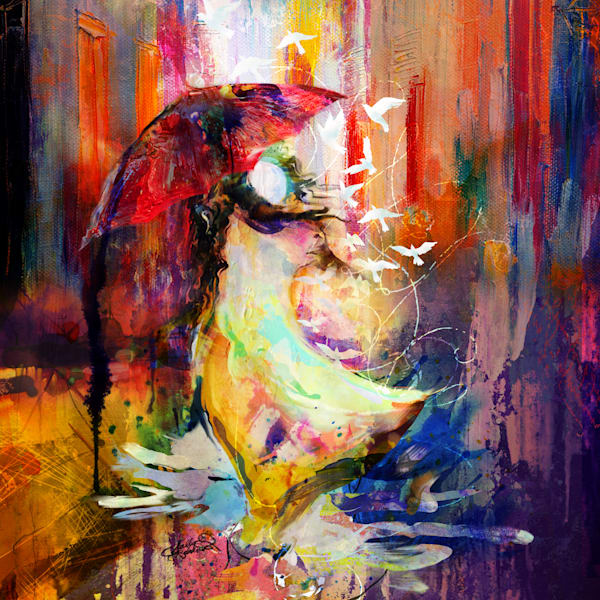 Bold & Colorful Art I Animal Art By Sally Barlow