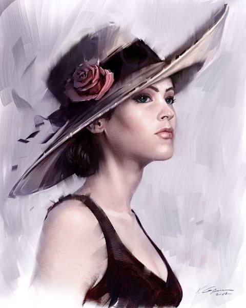 Sophie. Fine Art by Vahe Grigorian Los Angeles Artist.