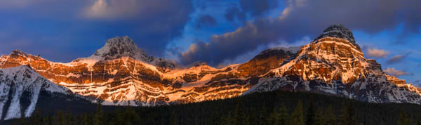 Mt. Cephren & Howe's Peak. Banf National Park|Canadian Rockies|Rocky Mountains|