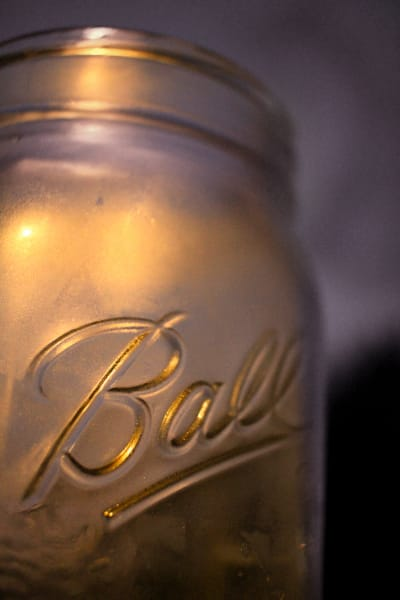 BALL JAR in the MOONLIGHT