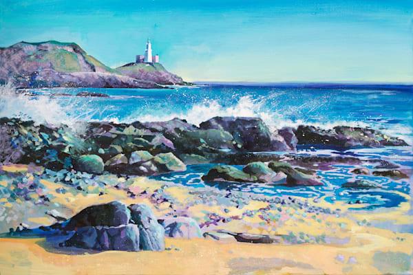Original painting Mumbles Lighthouse