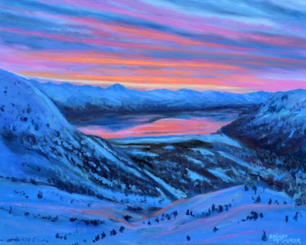 Mount Alyeska Painting