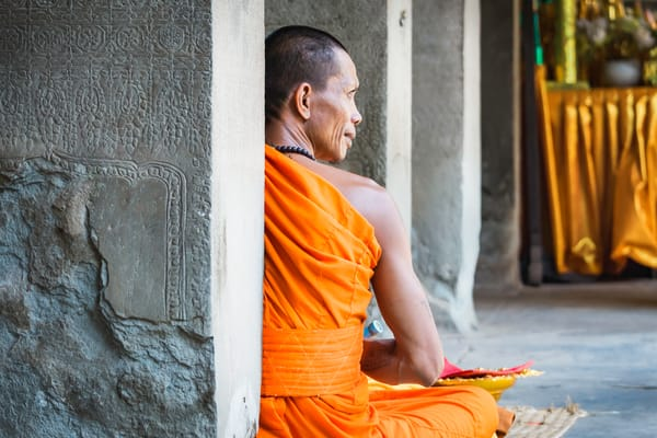 Patience | Buddhist monk | Susan J Photography