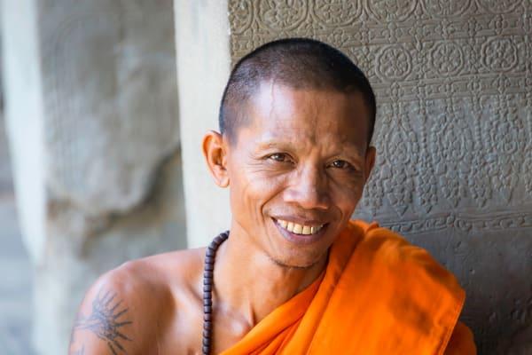 Playful | Buddhist Monk | Angkor Wat | Susan J Photography