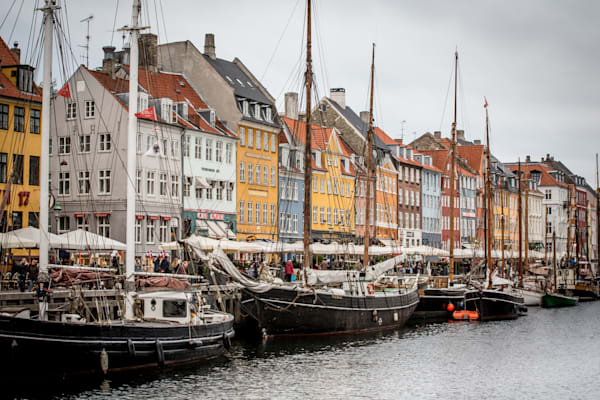 Moody Nyhavn Canal Photo for sale Barb Gonzalez Photography