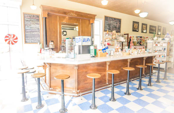 Antique Soda Fountain Photography Art | Barb Gonzalez Photography