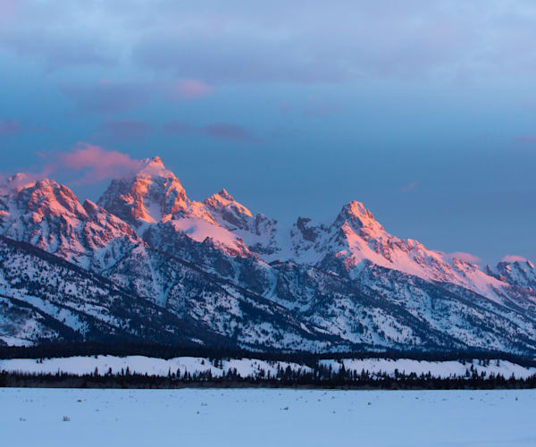 Tetons Alpenglow Photography Art | Barb Gonzalez Photography