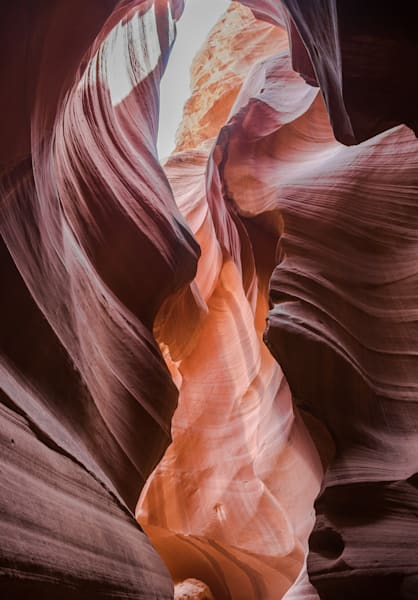 Graceful Antelope Slot Canyon Fine Art Photo in Canvas, Metal, Archival Print
