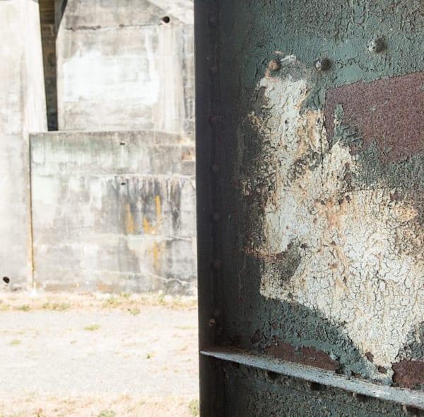Fort Worden Abstract Door and Bunker