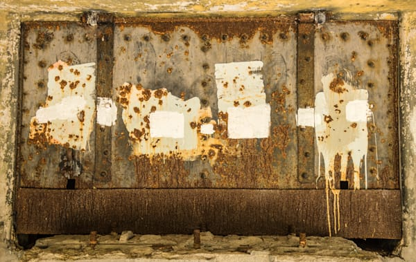 Abstract Fine Art Photo of Fort Worden - in Canvas, Metal or Archival Print