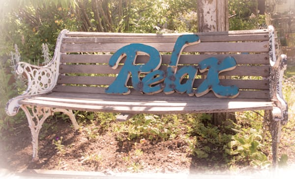 Relax Bench Photography Art | Barb Gonzalez Photography