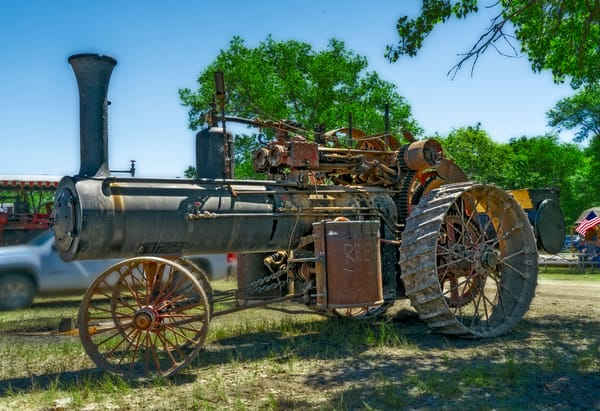 Harvest Reeves Steam Powered Tractor Restored Farm fleblanc
