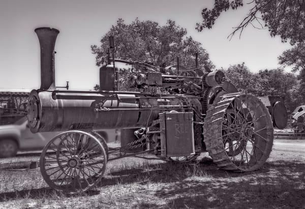 Vintage Reeves Steam Powered Tractor Restored Farm fleblanc