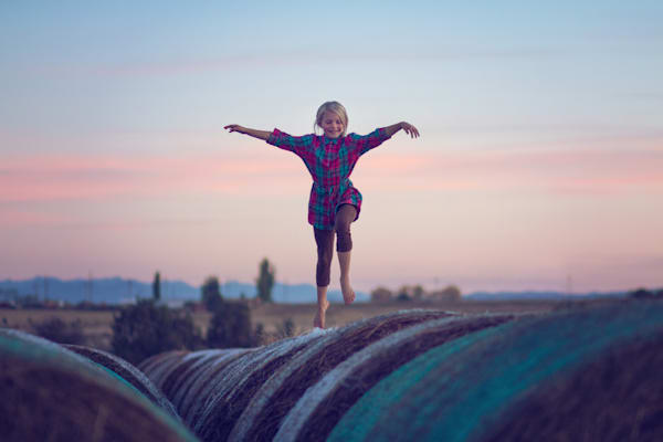Jumping Bales Art | Mandy Jane Williams Art