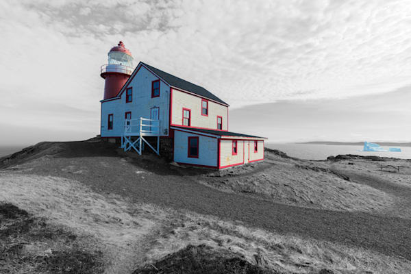 Ferryland Lighthouse   Colour Pop Art | Hancock Gallery