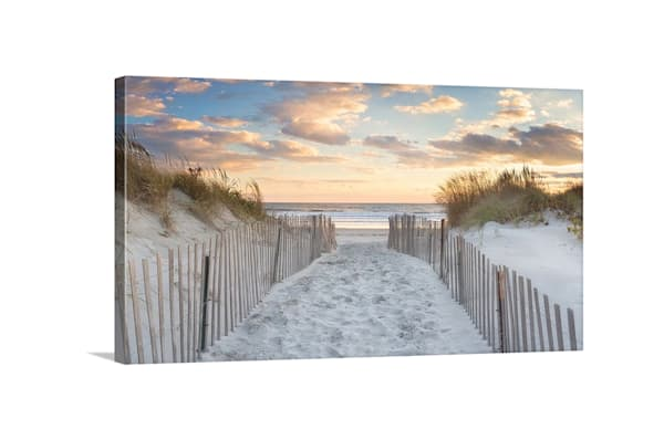 Second Beach Sunset   28x48 Canvas Gallery Wrap For Nancy Photography Art | Katherine Gendreau Photography