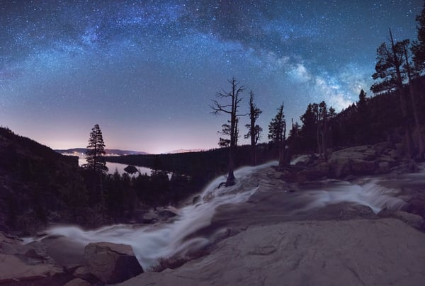 Flowing Dreams - Emerald Bay Lake Tahoe Print