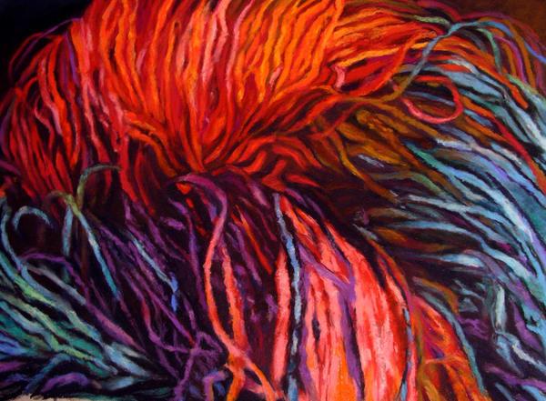 Loreta Feeback, visual artist of pattern and color