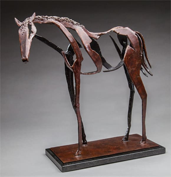 Horse Sculpture by Al Glann | Chestnut Ridge
