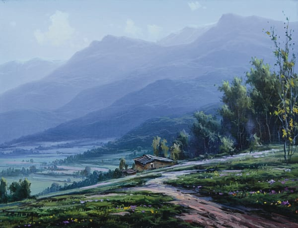 Colomer Pyrenean Landscape Fc 023 Art | Pixel Mouse House LLC