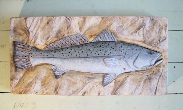 Purchase speckled trout art work