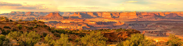 Canyonlands Panorama photograph by Christina Stefani