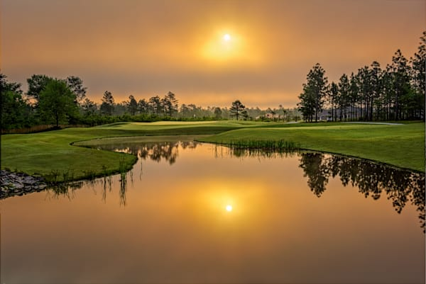 12th Hole at Dawn, Compass Pointe
