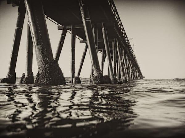 Hueneme Pier in BW
