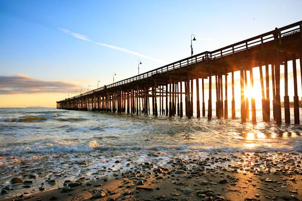 """Sunlit Pier"" -  W8A6409"