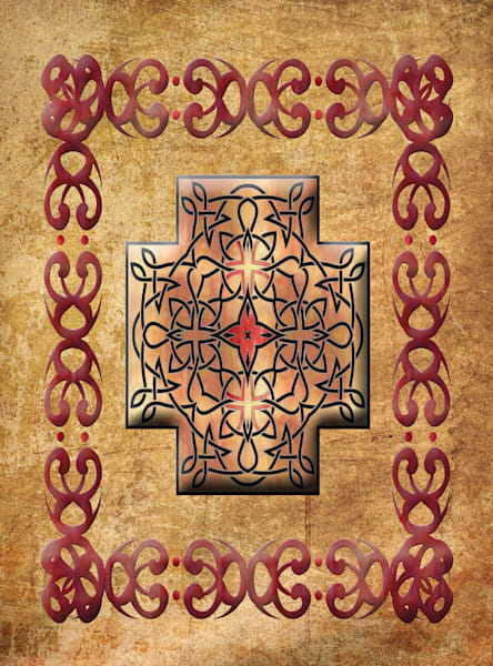 Celtic Square Cross Rectangle