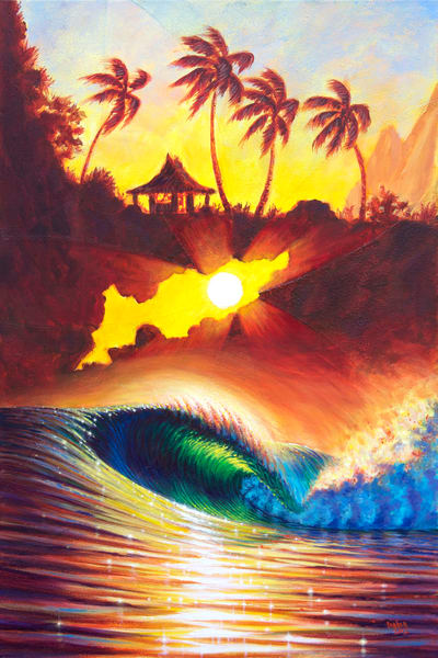 Hawaii Art | Burst of Power by Patrick Parker