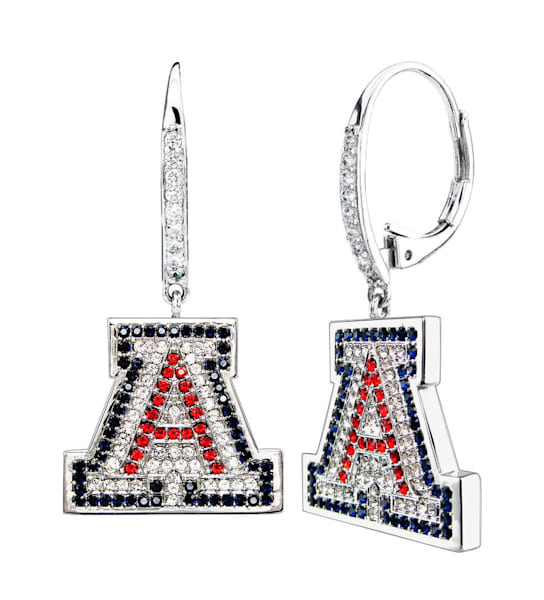 University of Arizona UA Silver Earrings | Southwest Jewelry