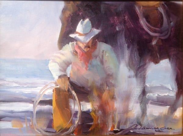 Coastal Cowboy   Southwest Art   Howard Carr