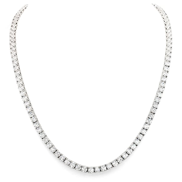 Silver Classic Tennis Necklace | Southwest Jewelry & Art