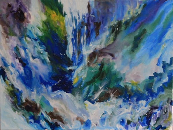 """""""Worship In The River"""" by Joan Fotopoulos 