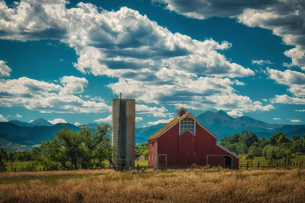 Photo Prints Old Stroh-Dickens Colorado Barn Longmont