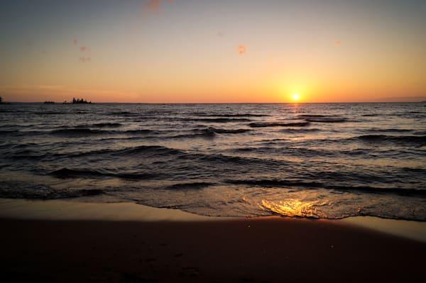 Lake Sunset Photography Art | Sage & Balm Photography
