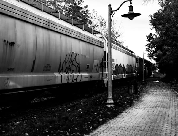 Grafitti On A Train Photography Art | Sage & Balm Photography