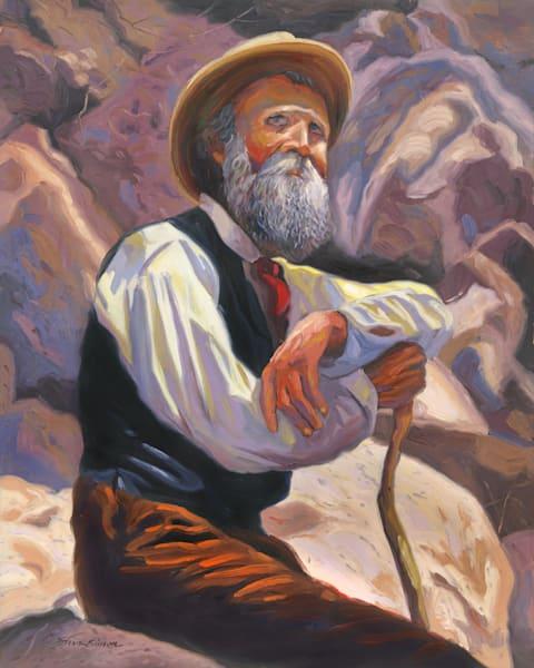 John Muir Portrait Painting