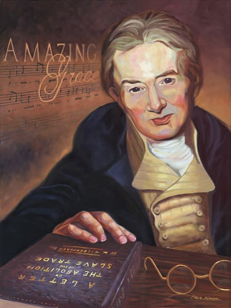 "William Wilberforce and his book entitled ""A Letter on the Abolition of the Slave Trade"""